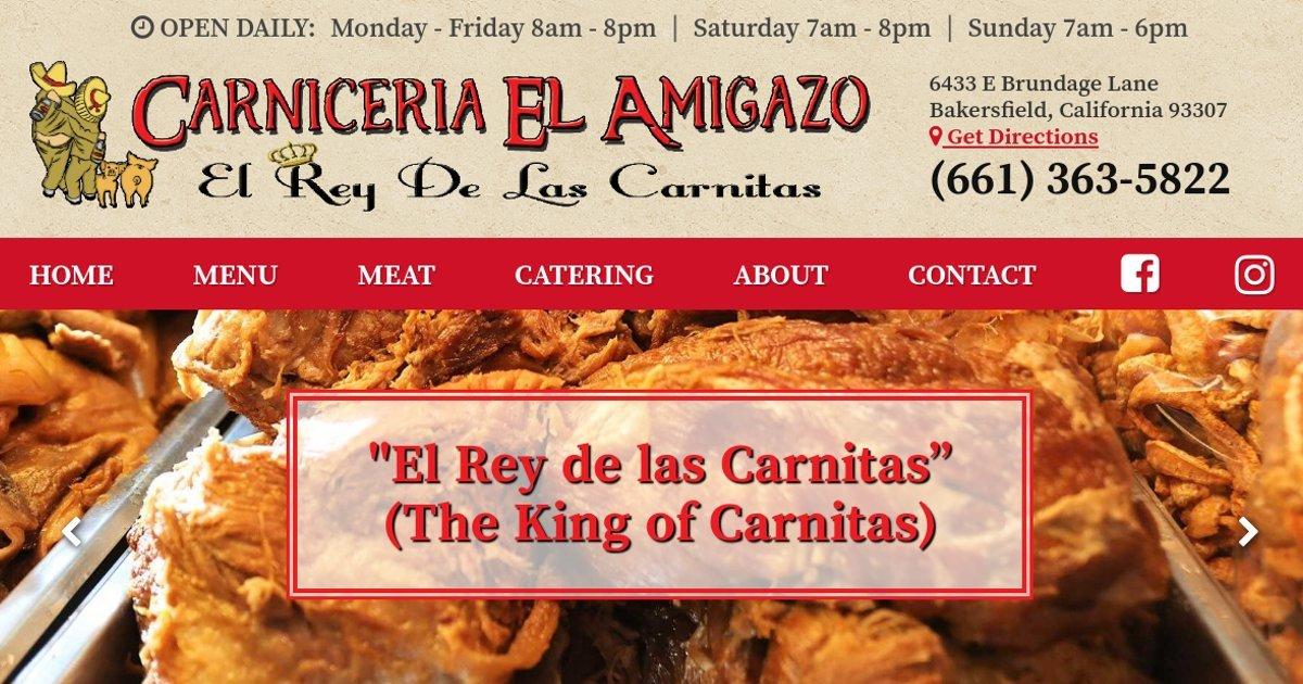 Carniceria El Amigazo El Rey De Las Carnitas